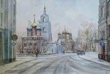 АКВАРЕЛЬ - Watercolor