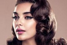 Christmas Hair Inspiration  - Hollywood Wave / Bring Hollywood home this Christmas by creating glamorous 50's inspired waves with your hair. This dramatic look gives you instant glamour and is perfect for all occasions over the festive period.