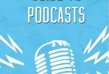 Podcasts for Business Owners / Podcasts for good listening and advice on starting a podcast.
