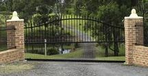 Steel Gates / A steel entrance gate is a popular design choice for home owners and designers alike. The traditional appearance available from a steel gate design suits a wide range of design projects and offers a diversity in style and design that is unparalleled.