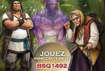 Jeu dont vous êtes le héros / Le jeu de rôle en ligne Bella Sylvaeque 1492 présente ses évolutions au travers de nombreuses copies d'écran et illustrations de son univers