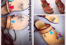 Sandalias decoradas | Cubrebotas | Zapatos / #sandaliasdecoradas - cuentas y abalorios para decorar sandalias, tobilleras y zapatos