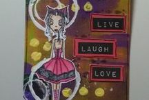 Mixed Media Tags/Cards