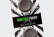 KontrolFreek Classic / Our flagship Xbox 360 and PlayStation 3 performance controller accessories are the thumbsticks trusted by the pros when the competition demands uncompromised accuracy and comfort. All KontrolFreek analog thumbsticks attach to controllers easily, increasing stick length to dramatically improve precision.
