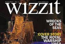 Lehdet / Wizzit-valokuvauslehti ja Kosmonomi lifestyle-lehti