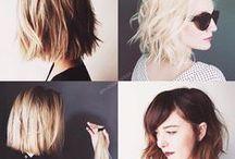 Cabello / El cabello dice más de lo que crees. Cabello de colores, cortes de cabello, tutoriales para peinar tu cabello,  etc. / by Brenda Ortega