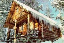 log cabin / ideas for the cabin
