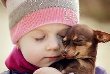 Our Best Friends / Sweet pictures of our pet friends with their owners/children.