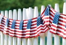 DIY American / Life can always use a little more red, white and blue. Check out these fun recipes and DIY projects.
