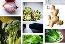 Detox Superfoods / Foods that amp up detox and healing in your body