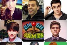 Smosh Games!!! / Pics of the Smosh Games members