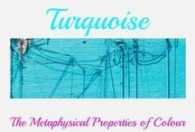 Aqua and Torquoise / Things I love in these colours, there shades and tones
