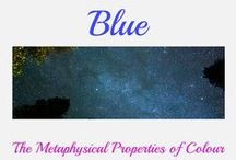 Blue / Things I love in this colour, its shades and tones and how it effects our moods and emotions