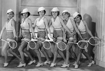 Vintage Tennis / Fun vintage tennis photos and tennis style in the days of yore