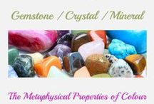 Gemstone, Minerals and Crystals / The properties and healing abilities of Gemstones