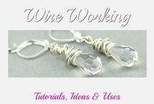 Wirework / Patterns, hints and tutorials for making wire jewellery components