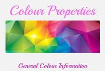 Colour properties / Assorted information on colour, mixing, matching, naming, etc