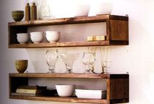 Shelving, storage & Display / Anything that can be used to store or display objects