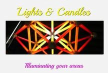 Lighting & Candles / Anything that creates light in the home, patio or outdoors