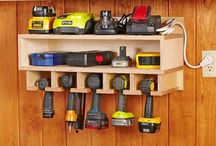 Garage, Workshop & Shed organisation / Storage and tips to keep these areas tidy and make it easy to locate items