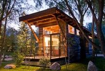 Tiny Cabins / by Lori Hallisey Hrovat