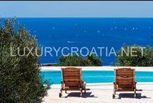 CROATIAN SEAFRONT VILLAS FOR RENT / www.luxurycroatia.net has finest selection of Croatian seafront villas for rent.