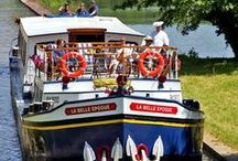 Luxury Hotel Barge Cruises / A gentle cruise on a hotel barge is the perfect way to discover the very soul of Europe, exploring its wonderful countryside and historical treasures and meeting its many friendly, diverse people.
