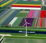 Holland Travel Inspiration / Holland is reclaimed land: once at the mercy of the ocean, and alternately land, islands, sea and swamps, it wasn't until the Dutch began to hold the sea at bay with intricate arrangements of dikes that it became stable. The result is a flat country, patch worked with dikes and criss-crossed with canals, with the horizon visible and perfectly level all around you. It is against this surreal backdrop that your cruise will take place.