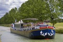 Hotel Barge L'Impressionniste / A week #cruising aboard L'Impressionniste on the #Burgundy #Canal introduces you to a wonderful blend of Burgundian #countryside, #history and viticulture.