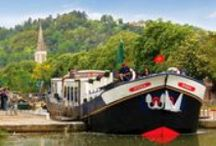 """Hotel Barge Rosa / Rosa is an old Dutch """"Clipper"""" barge that was completely refitted in 2010 to a high specification."""