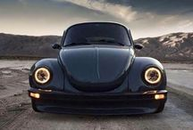 VW beetles / A collection of VW beetles