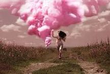 Pink clouds for grey days
