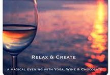 Relax and Create; Events of 2015 / Sign up for our special events and classes. info@relaxandcreate.com