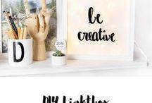 DIY / Projekte für Schlecht-Wetter-Wochenenden oder einfach so. #diy #creative #diy #selbermachen