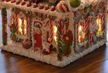 Christmas / piparkakkutaloja, Joulu askarteluja, tonttuja.....