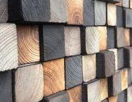 Landscape Architecture - Wood walls