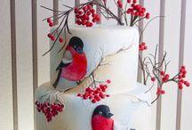 Cakes / Pieniä leivoksia ja kakkuja