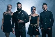 Skillet / Skillet is the best band ever for me. Of course I have other favorite bands, but Skillet is not just a band to me. Their music makes me stronger. Members are John Cooper (bass guitar, vocals) / Korey Cooper (guitar, keyboard) / Jen Ledger (drums, vocals) / Seth Morrison (guitar).