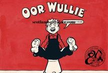 OOR WULLIE / A small selection of our awesome range of OFFICIAL OOR WULLIE MERCHANDISE.