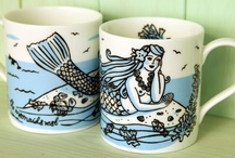 Murmuring Mermaids / As mythical as fairies , I love to create them and collect them.