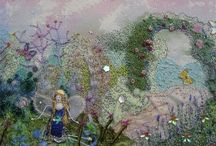 Betty Bib  / Fairies , dolls and mermaids - all of which I try to imbue with a sense of magic.