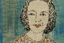 Artful Stitchery / machine and hand embroidery .