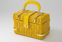 A Tisket - A Tasket / Not all yellow baskets because that would be boring, but my kind of hand luggage.