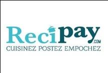 Recipay.com : cuisinez, postez, empochez / Bienvenue sur recipay.com, le nouveau site de recettes de cuisine !  Cuisinez, Postez, Empochez : http://www.recipay.com/ #food #drink #cook #post #getpaid