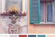 Outside colour ideas