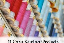 Sewing Project Ideas / Modern sewing ideas, tips and inspiration.