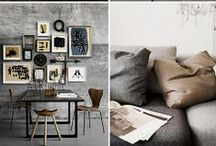 Dream home elements / ...not surprisingly includes loads of Danish design ;)
