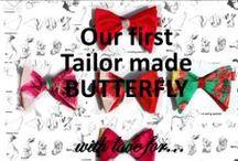 TAILOR MADE butterfly tie / TAILOR MADE tie