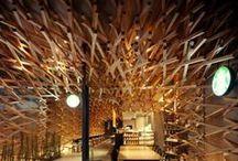 restaurant / интерьер ресторан кафе бар