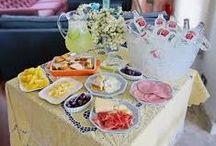 Recebendo em casa com carinho!! / Idéias para receber em casa....só idéias praticas, gostosas e fofas!